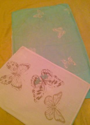 Наволочки с бабочками 2 шт