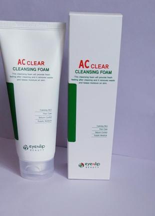 Eyenlip ac clear cleansing foam