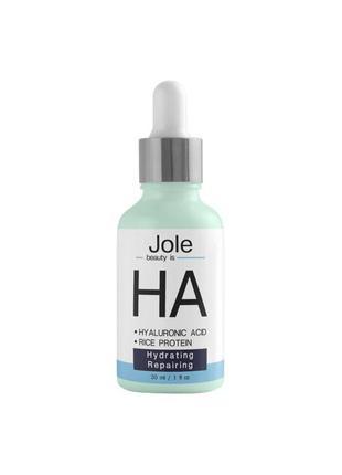 Гиалуроновая сыворотка jole hyaluronic serum с эффектом максимального увлажнения 30ml