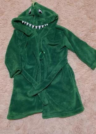 Тёплый махровый халат, детский халат