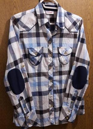 Фирменная стильная женская рубашка