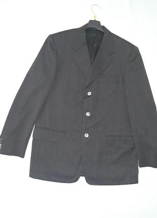 Мужской пиджак pierre cardin,блейзер, пиджак, шерсть, чоловічий піджак 3xl-4xl