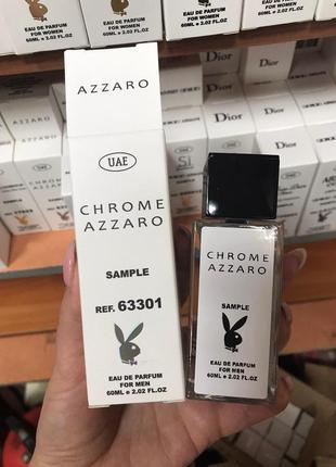 Мужская парфюмерия azzaro chrome с феромонами