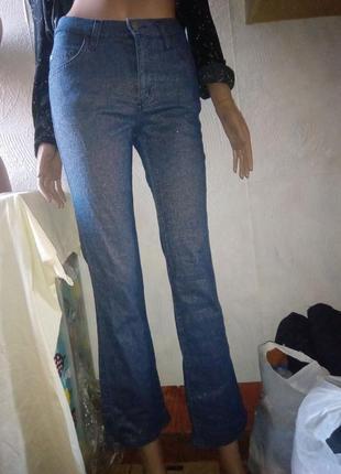 Блестящие джинсы люрекс mavi 26/32 р.