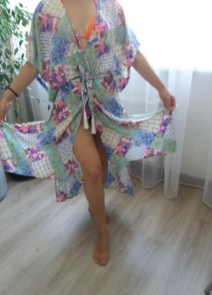Пляжное парео-платье victorias secret в наличии