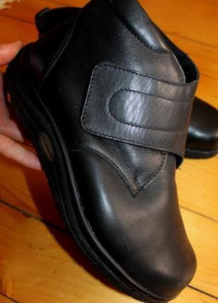 41 разм. ботинки helwesko. кожа