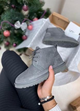Угги ugg neumel dark grey
