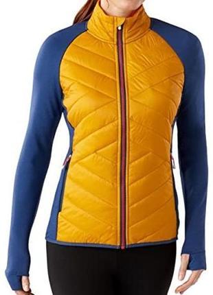 Smartwool® women's corbet 120 jacket куртка гибридная с шерстью мериноса icebreaker