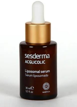 Антивозрастная липосомальная сыворотка sesderma laboratories acglicolic liposomal serum