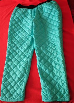 Стеганные штаны 64-66 р