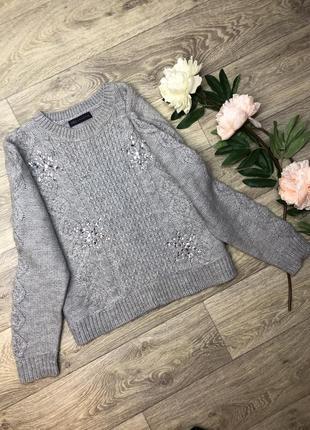 Красивый укороченый свитер m&s