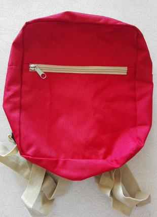 Красная сумка - рюкзак oriflame