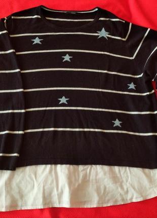 Шикарный свитерок на 60-64 р