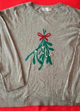 Шерстяной свитерок 60-64 р