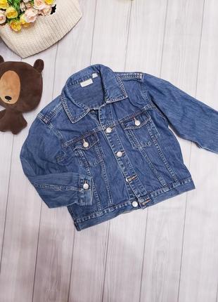 Джинсовая куртка детская zara