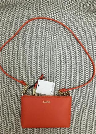 Новая сумочка через плечо calvin klein, оригинал