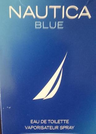 Туалетная вода nautica blue