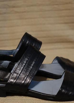 Открытые очень мягкие черные кожаные босоножки everybody by bz moda италия 38 р.