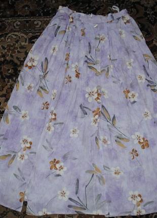 Фиалковая юбочка