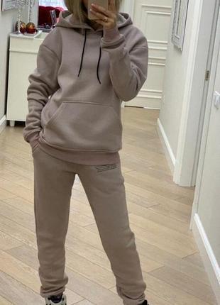 Стильний ефектний спортивний костюм джогери і худі з капюшоном