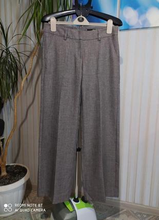 Абалденные теплые брюки трубы с стрелками от h&m