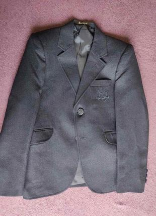 Пиджак школьный для первоклассника