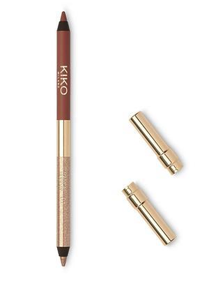 Kiko magical holiday карандаш для глаз duo eyeliner