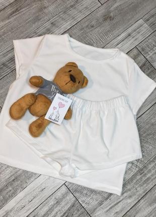 Велюр плюш пижама