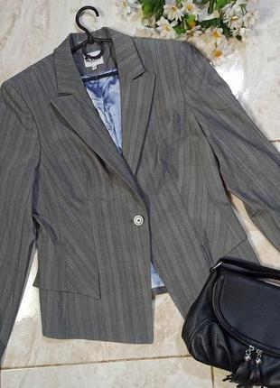 Красивый брендовый пиджак жакет slater шерсть
