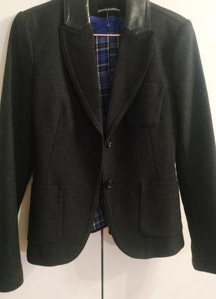 Шерстяной пиджак drykorn
