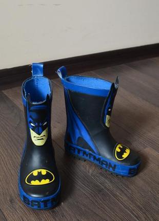 Резиновые сапоги batman