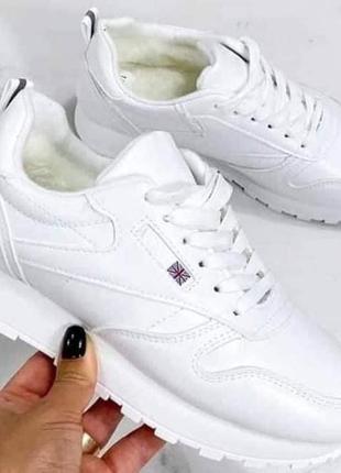 Шикарные зимние кроссовки на меху