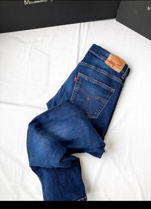 Джинсы levi's 511, джинсы бойфренды с завышенной талией, с высокой посадкой, мом