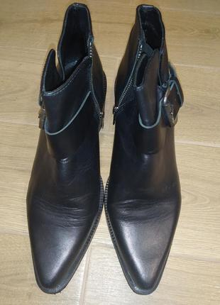 Кожаные ботильоны 👢 ботинки buffalo london. качество 💯 супер!