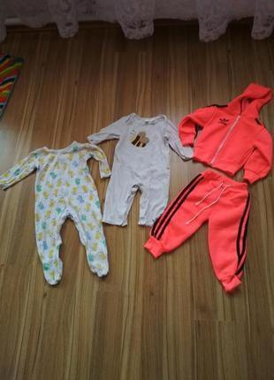 Одежа для младенца набор