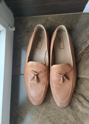 Скидка до 15.11 туфли, мокасины asos кожа