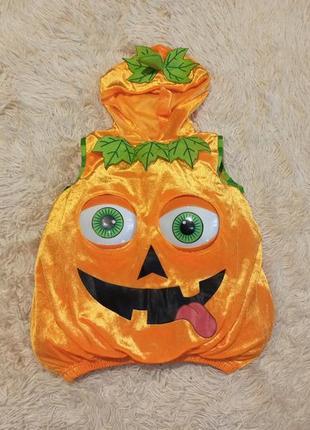Карнавальный костюм тыквы тыква