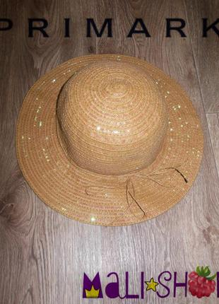 Шляпа (очень красиво переливается на сонце) primark