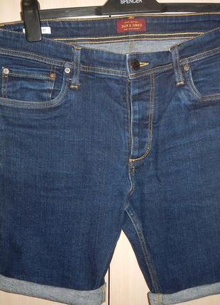 Джинсовые шорты jack & jones p.xl