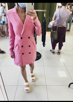 Платье пиджак жакет bershka