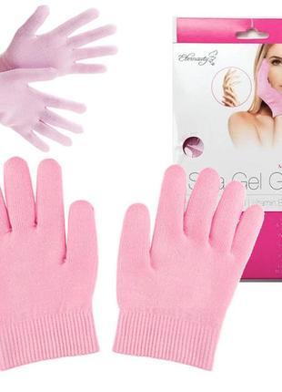 Зволожуючі гелеві рукавички spa gel gloves увлажняющие гелевые перчатки