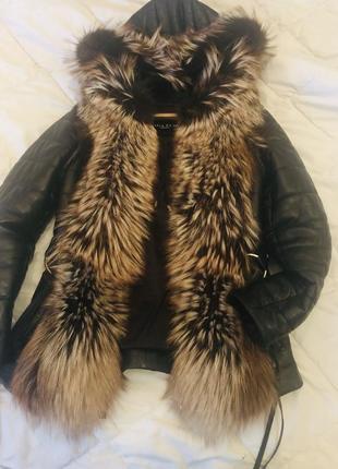 Куртка кожана, весна-осінь -зима.