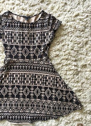 Мини платье forever 21
