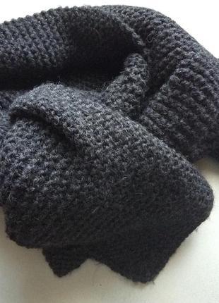 Ручная работа шерстяной шарф,  ручной работы состояние идеальное.