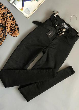 Новые обалденные узкие джинсы с напылением dorothy perkins (брюки)