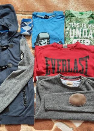 Комплект вещей для мальчика, речі для хлопця 10-11 років