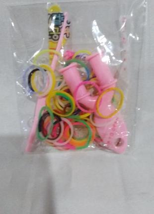 Резинки для плетения браслетов.