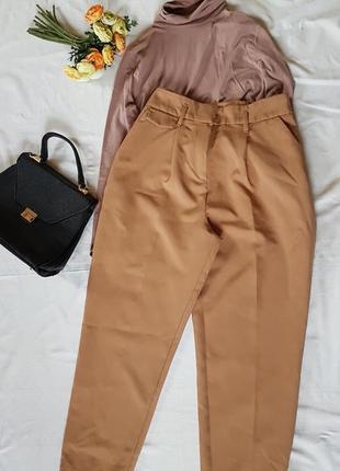 Базовые брюки слоучи со стрелками хлопок
