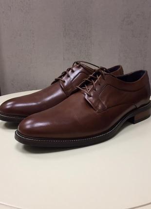 Мужские туфли cole haan, кожа, новые, размер 43.
