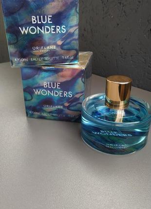 Blue wonders туалетная вода орифлейм